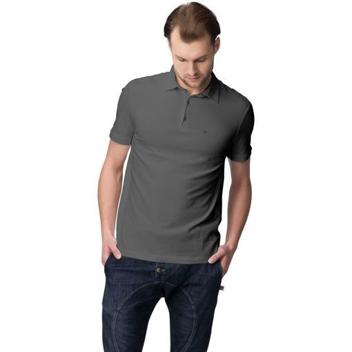 Polo Pique Short Sleeve Anthracite