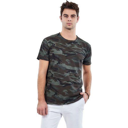 """Ανδρικό T-shirt """"Army"""" Battery Χακί"""