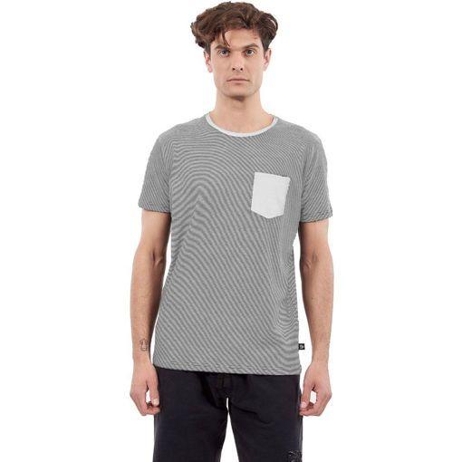 """T-Shirt Garment Wash Off White """"Stripes"""""""