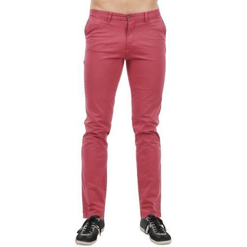 Ανδρικό καλοκαιρινό chinos παντελόνι Raspberry
