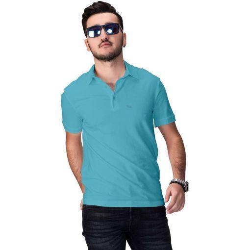 """Ανδρική Μπλούζα Polo """"Simplicity"""" Run Aqua"""