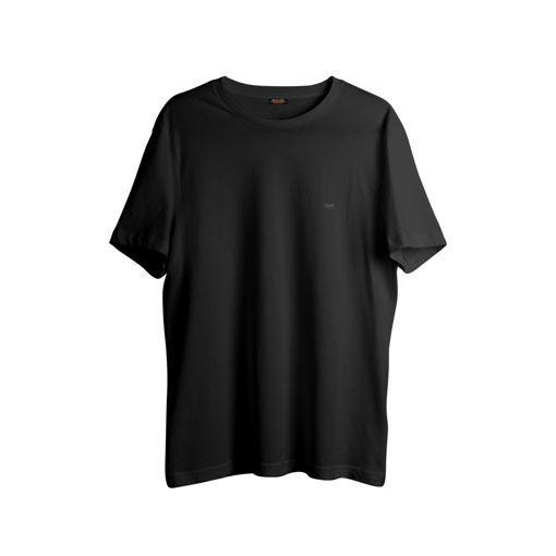 cd4cb61a327f T-shirt Black Big Size - Greenwood