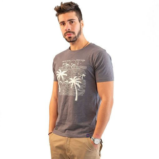 """Ανδρικό T-shirt """"Endless Beach"""" Battery"""