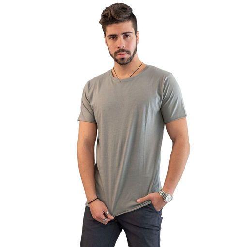 Ανδρικό T-shirt Battery Γκρι