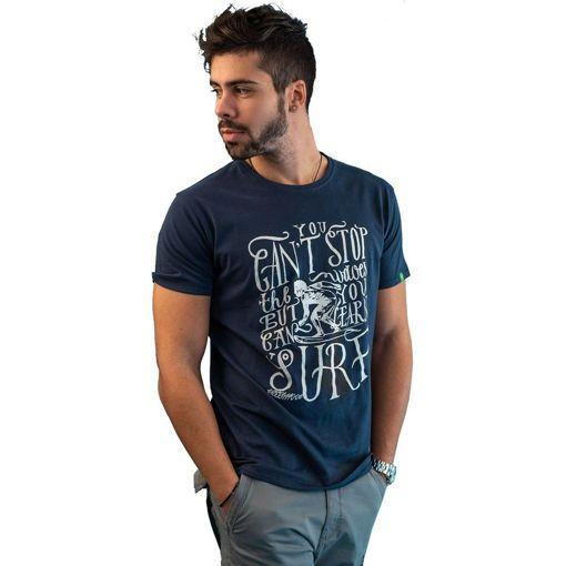 """Ανδρικό T-Shirt """"Learn To Surf"""" Greenwood"""