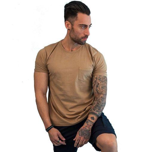 """Ανδρικό T-Shirt """"Pocket """"  Greenwood"""
