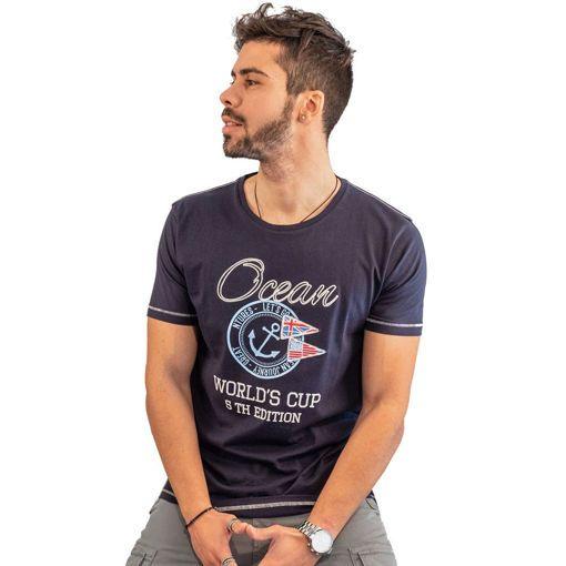 """Ανδρικό T-Shirt """"Great Journey"""" Ocean Shark"""
