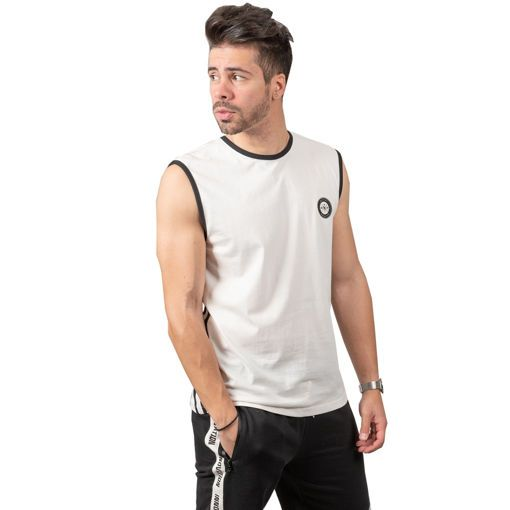 T-shirt Sleeveless Tapes and Stripes