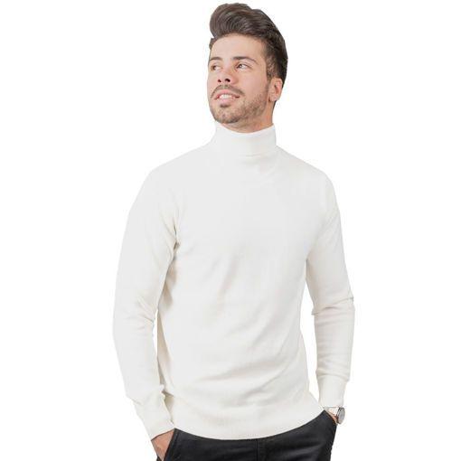 Ανδρική πλεκτή μπλούζα ζιβάγκο RUN