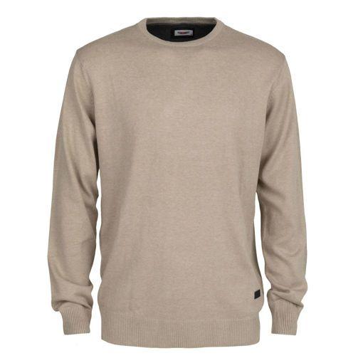Ανδρική πλεκτή μπλούζα RUN Μπεζ