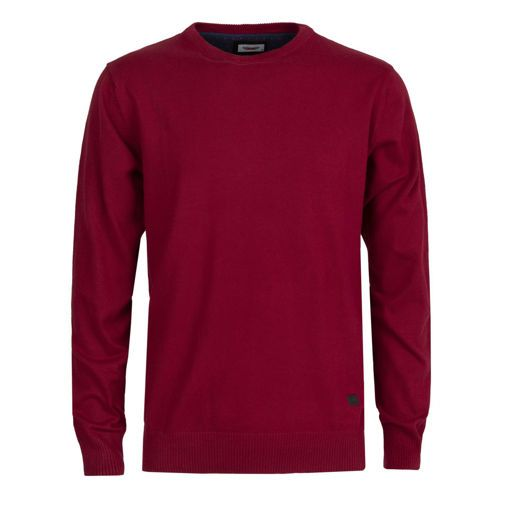 Ανδρική πλεκτή μπλούζα RUN Κόκκινο