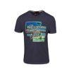 """Ανδρικό βαμβακερό T-shirt Greenwood """"Lovers Of Blue"""""""