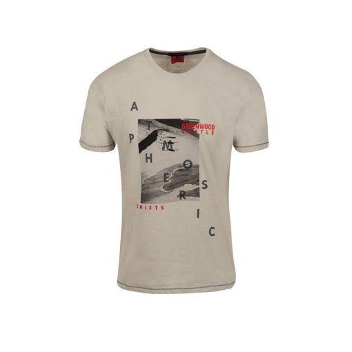"""Ανδρικό βαμβακερό T-shirt Greenwood """"Atmospheric"""""""