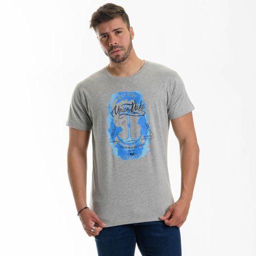"""Ανδρικό βαμβακερό T-shirt Battery """"Union Made"""""""
